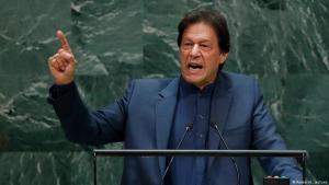 رئيس الوزراء الباكستاني عمران خان. USA New York UN Generalversammlung Imran Khan FOTO REUTERS
