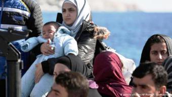 مأساة اللاجئين السوريين عبر البحر المتوسط