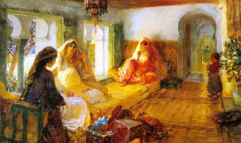 الحجاب الإسلامي في زمن الكولونيالية الصورة فيكيبيديا