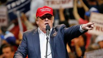"""يسعى ترامب الى حماية ما يعتبره مصالح الولايات المتحدة الأساسية، وهو أول رئيس يفوز في الولايات المتحدة رافعاً شعار """"أميركا أولاً""""."""