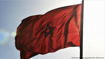 عَلَم المغرب: الراية المغربية.