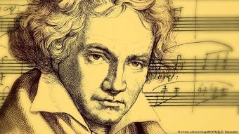 الموسيقار الكلاسيكي الألماني الشهير بيتهوفن.
