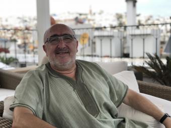 الباحث الأنثروبولوجي الألماني ديتر هالر في المغرب. Photo: Karima Ahdad