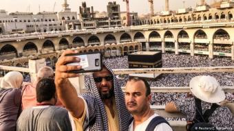 سيلفي في مكة المكرمة.