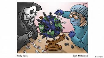 لعبة مميتة: إنه سباق مع الزمن، ففي مختبرات البحوث يتم البحث عن لقاح يقضي على فيروس كورونا، لكن إلى ذلك الحين، تتواصل اللعبة القاتلة بين الإنسان والمرض كما يراها زاتش Zach من الفلبين ـ والنتيجة غير معروفة.