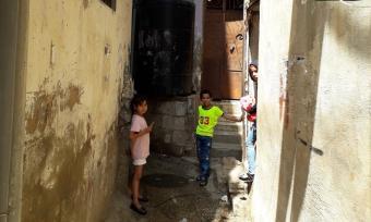 أطفال فلسطينيون في مخيم برج البراجنة - لبنان. (photo: Stephen McCloskey)