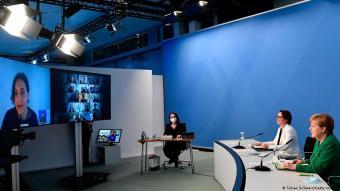 المستشارة الألمانية أنغيلا ميركل تشارك للمرة الأخيرة في قمة الاندماج، إذ إنها ستودع عالم السياسة في ألمانيا في خريف 2021.
