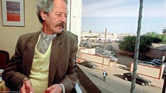 محمد شكري في الدار البيضاء نوفمبر / تشرين الثاني 2000.