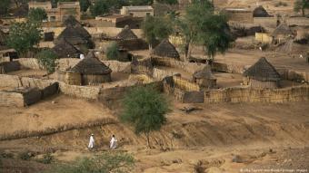 الجنينة عاصمة ولاية غرب دارفور - السودان.